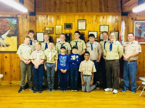 Boy Scout Troop 15 Activity Expenses