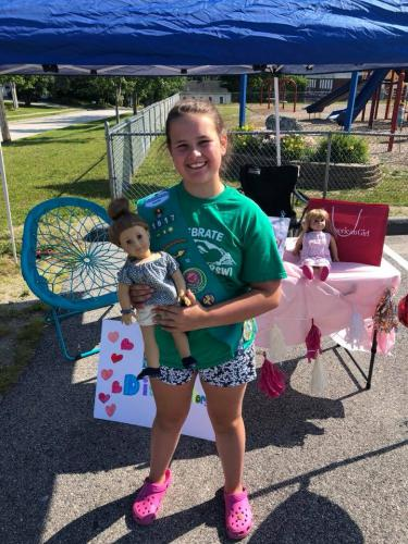 Doll Distributors - Lily Therrien's Girl Scout Project