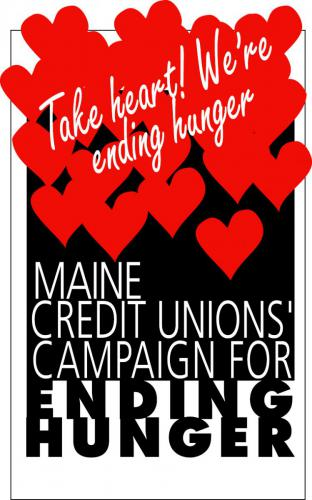 Maine Credit Unions Campaign for Ending Hunger