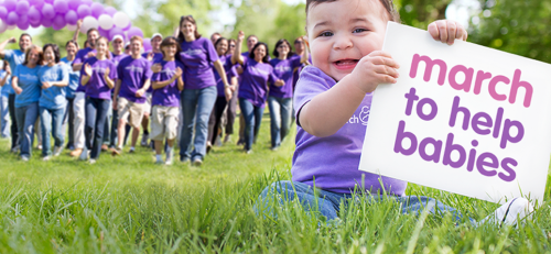 March of Dimes March to Help Babies