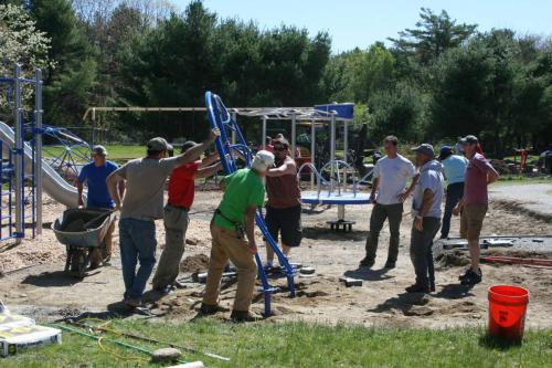 Sedgewick Elementary School Playground Build